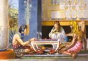 Jigsaw Puzzles - Egyptian Chess Players
