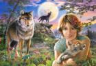 In the Full Moon Light - 1000pc By Castorland