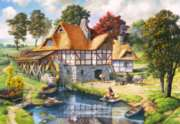 Water Mill Cottage - 2000pc By Castorland