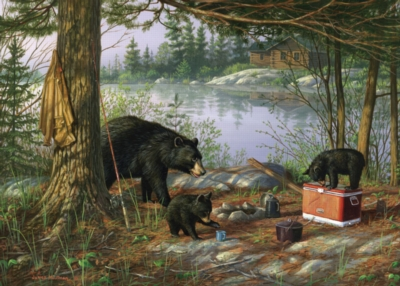 Jigsaw Puzzles - Breakfast Time Bears