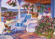 Mollie's Porch - 1000pc Jigsaw Puzzle By Holdson
