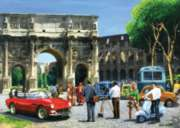 Streets of Rome - 1000pc Jigsaw Puzzle By Holdson