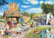 Sunday Service - 1000pc Jigsaw Puzzle By Holdson
