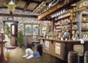 Old Pub with Sheepdog - 1000pc Jigsaw Puzzle By Holdson