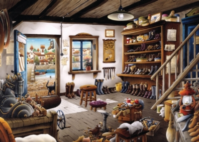 Jigsaw Puzzles - The Cobbler Shop