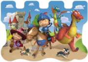 Mike and his Friends - 24pc Shaped Floor Puzzle by Ravensburger