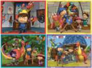 Jigsaw Puzzles for Kids - Life with Mike, 4 in a Box