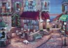 Caf� Romantique - 1500pc Jigsaw Puzzle by Anatolian