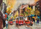 Way Of Tram - 1500pc Jigsaw Puzzle by Perre