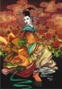 Geisha - 1500pc Jigsaw Puzzle by Perre
