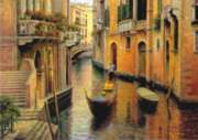 Evening Gondola - 1500pc Jigsaw Puzzle by Perre