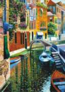 Romantic Canal - 1500pc Jigsaw Puzzle by Perre