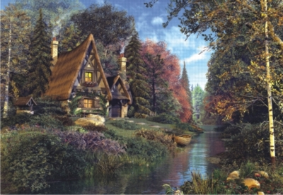 Perre Jigsaw Puzzles - Fairytale Cottage