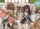 Puppies - 1000pc Jigsaw Puzzle by Anatolian