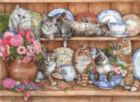 Kittens - 1000pc Jigsaw Puzzle by Perre
