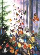 Butterfly Woods - 1000pc Jigsaw Puzzle by Perre