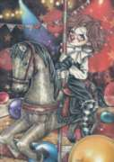 Misty Circus: Carousel - 1000pc Jigsaw Puzzle by Heye
