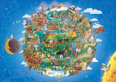 The Earth - 1000pc Jigsaw Puzzle by Heye