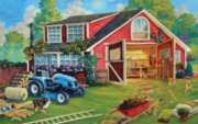 The Tool Shed - 500pc Jigsaw Puzzle By Sunsout