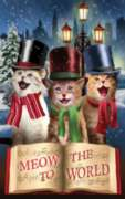 Meow to the World - 550pc Jigsaw Puzzle By Sunsout