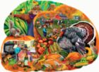 Country Harvest - 1000pc Shaped Jigsaw Puzzle By Sunsout