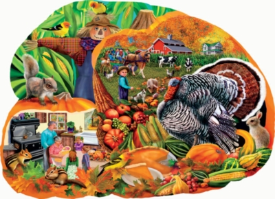 Jigsaw Puzzles - Country Harvest