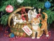 Holiday Basket - 300pc Large Format Jigsaw Puzzle By Sunsout