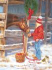 Winter-y Morning - 300pc Large Format Jigsaw Puzzle by Sunsout