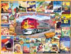 Golden Age of Railroads - 1000pc Jigsaw Puzzle by White Mountain