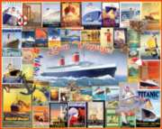 Bon Voyage Collage - 550pc Jigsaw Puzzle By White Mountain