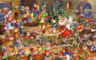 Christmas Chaos - 1000pc Jigsaw Puzzle by Piatnik