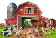 Busy Barn - 32pc Shaped Floor Puzzle By Melissa & Doug