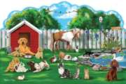 Melissa and Doug Jigsaw Puzzles for Kids - Pet Party