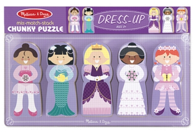 Dress-Up - Chunky Wood Puzzle By Melissa & Doug