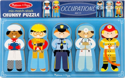 Children's Puzzles - Occupations