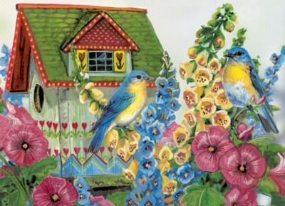 Eurographics Large Format Jigsaw Puzzles - Country Cottage