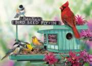 Bertie's Bird Seed Fly-In - 300pc Large Format Jigsaw Puzzle by Eurographics