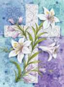 Easter Lilies - Standard Flag by Toland