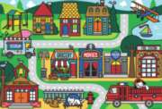 Floor Jigsaw Puzzles For Kids - City Streets