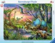 Jigsaw Puzzles for Kids - Dinosaurs at Dawn