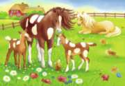 Cute Horses - 35pc Jigsaw Puzzle by Ravensburger