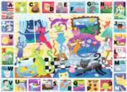 Kitty Alphabet - 60pc Jigsaw Puzzle By Ravensburger