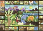 Dinosaur Alphabet - 60pc Jigsaw Puzzle By Ravensburger