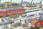 Railway Station - 60pc Jigsaw Puzzle By Ravensburger