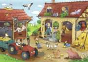 Farm Chores - 60pc Jigsaw Puzzle By Ravensburger