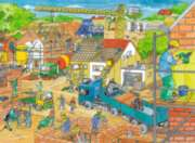 Jigsaw Puzzles for Kids - Building a House