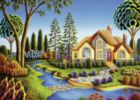 Cottage Dream - 300pc Large Format Jigsaw Puzzle By Ravensburger