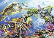 Turtle & Friends - 300pc Large Format Jigsaw Puzzle By Ravensburger