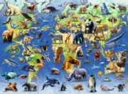 Endangered Animals - 500pc Jigsaw Puzzle By Ravensburger