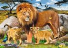 Lion Pride - 500pc Large Format Jigsaw Puzzle By Ravensburger